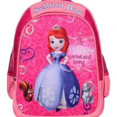 کیف کوله پشتی دینا چرم مدرسه ای پرنسس