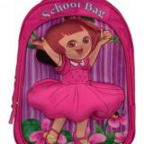 کیف کوله پشتی دینا چرم مدرسه ای دورا