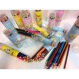 مداد رنگی چانگ لوله ای 18تایی