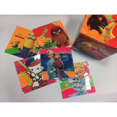 دفتر نقاشی نادری 40 برگ خشتی عروسکی 8 رنگ پنتون