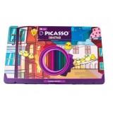 مداد رنگی ۳۶ رنگ پیکاسو جعبه فلزی