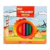 مداد رنگی ۲۴ رنگ پیکاسو جعبه فلزی