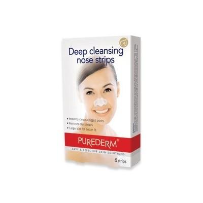 چسب بینی قوی پاک کننده جوش سر سیاه 6 تایی پیوردرم (Purederm)