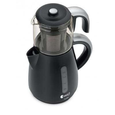 چاي ساز ریوالد مدل تورينو مشکی کد 22225