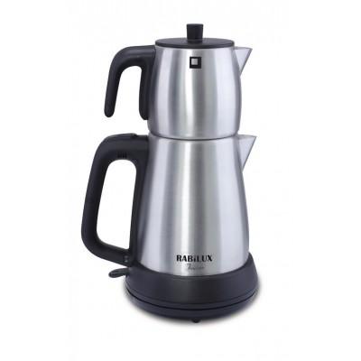 چای ساز رابیلوکس Rabilux مدل فريكور - مشكي - استيل مات کد 110404
