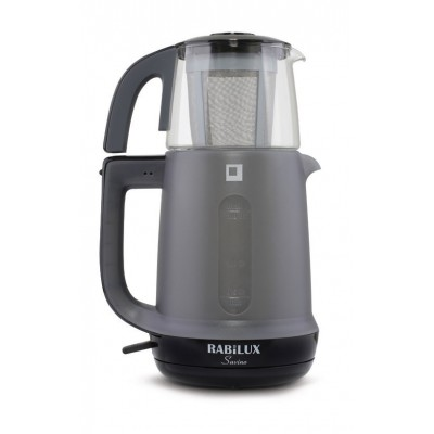 چای ساز رابیلوکس Rabilux مدل ساوينو - مشكي -شيشه شات کد 110408