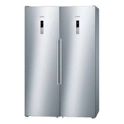 یخچال فریزر بوش Bosch دوقلو مدل KSV36BI304 - GSN36BI304 استیل