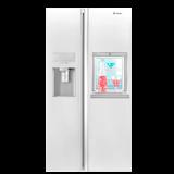 یخچال فریزر اسنوا ساید بای ساید سری هایپر مدل SS-E3500SW سفید چرم