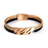 دستبند استیل مونت بلانک