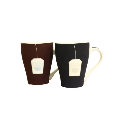 لیوان سرامیکی طرح Coffee با روکش جیر