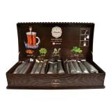 چای با جعبه لوکس چوبی 56 عددی رابسین