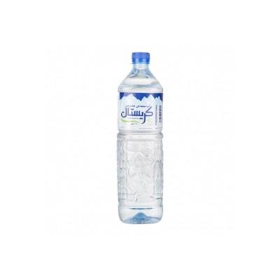 آب معدنی کریستال 1.5 لیتر