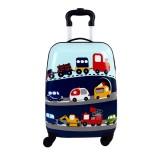 چمدان مسافرتی Gabol طرح ماشین